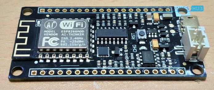 DFRobot-FireBeetle-ESP8266-Review-FireBeetle