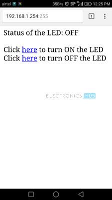 如何通过Internet Sceenshot控制ESP8266