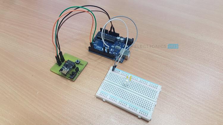 使用ESP8266和Arduino Image 1的WiFi控制的LED
